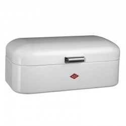 Wesco Grandy Bread Bin – white contemporary bread bin