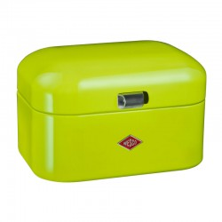 Wesco Single Grandy Bread Bin – contemporary green bread bin