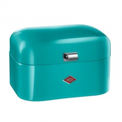 Wesco Single Grandy Bread Bin – small turquoise bread bin