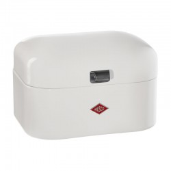 Wesco Single Grandy Bread Bin – small white bread bin