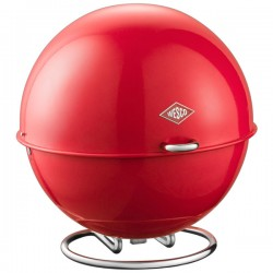 Wesco Superball Bread Bin - red pod bread bin