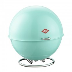 Wesco Superball Bread Bin - Mint - modern green bread store