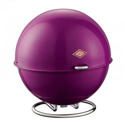 Wesco Superball Bread Bin - Purple - modern bread bin