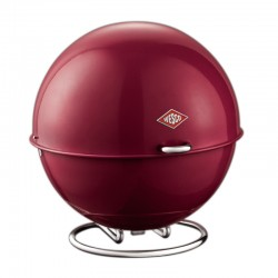 Wesco Superball Bread Bin (Ruby Red) - Red Candy