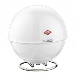 Wesco Superball Bread Bin (White) - Red Candy