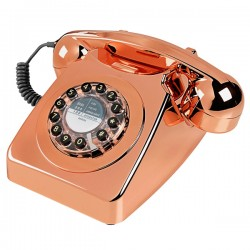 Wild and Wolf 746 Phone - Copper - retro telephone