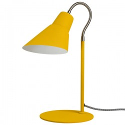 Gooseneck Lamp - English Mustard - yellow desk lamp - Wild Wood
