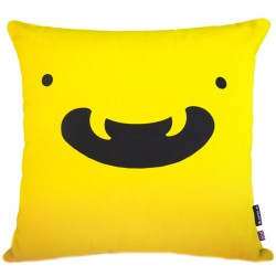 Yo Kawaii Cushion Friend - osoroshii yellow character cushion