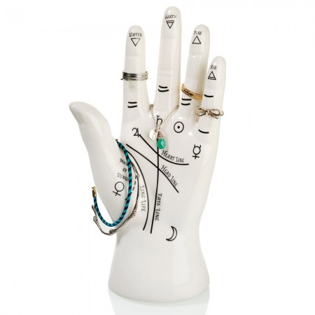 Palmistry Jewellery Holder - Red Candy