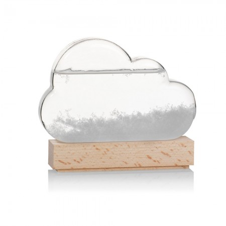 Storm Cloud Weather Predictor - Red Candy