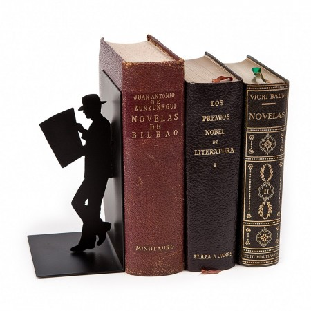 The Reader Bookend - Red Candy