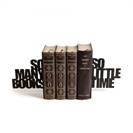 So Many Books... Bookend - Red Candy