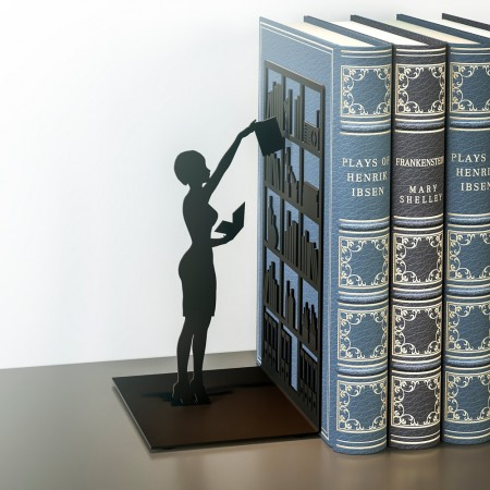 The Library Bookend - Red Candy