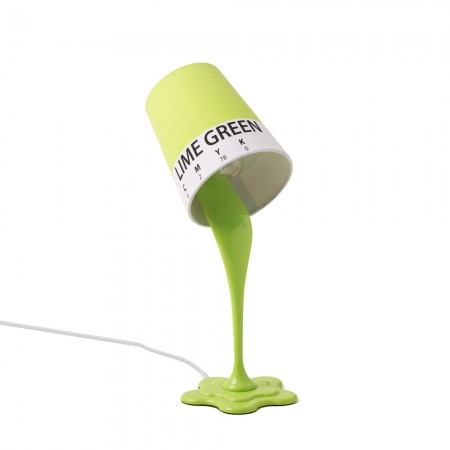 Paint Spill Lamp (Green) - Red Candy