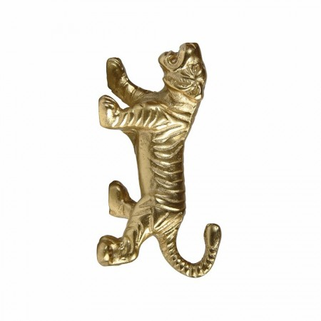 Golden Tiger Wall Hook - Red Candy