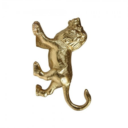 Golden Lion Wall Hook - Red Candy