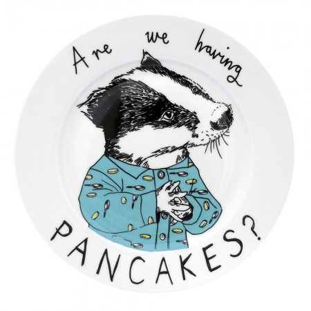 Are We Having Pancakes? Side Plate - Red Candy