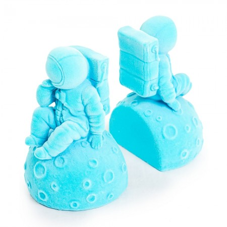 Astronaut Bookends (Blue Flock) - Red Candy