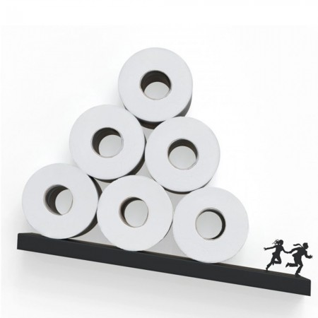 Avalanche Toilet Paper Shelf - Red Candy