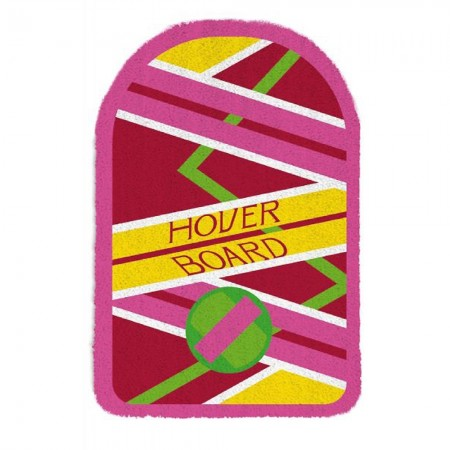 Back to the Future Hoverboard Doormat - Red Candy