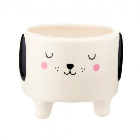 Barney the Dog Planter - Red Candy