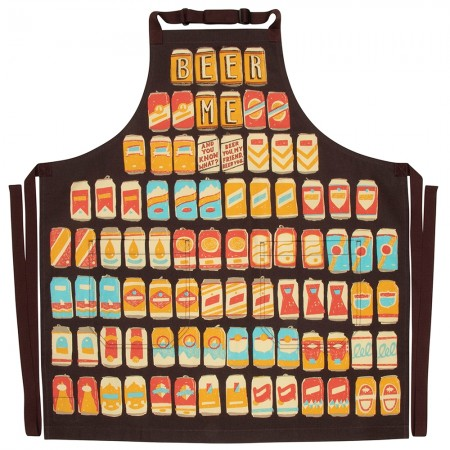 Beer Me Apron - Red Candy