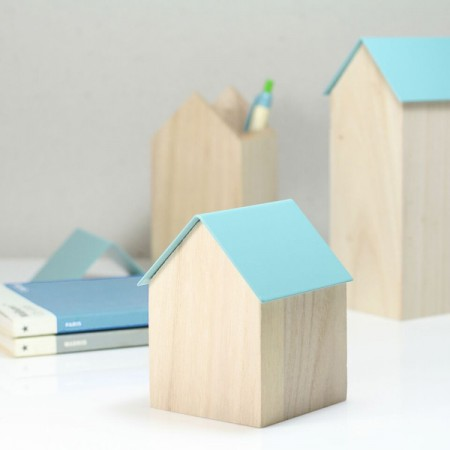 Block Storage House (Light Blue 3 Sizes Available) - Red Candy