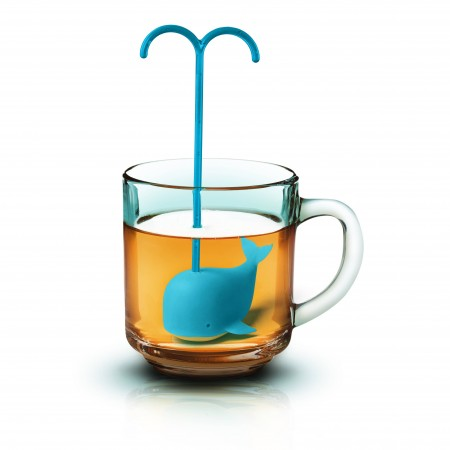 Brew Whale Tea Infuser - Red Candy