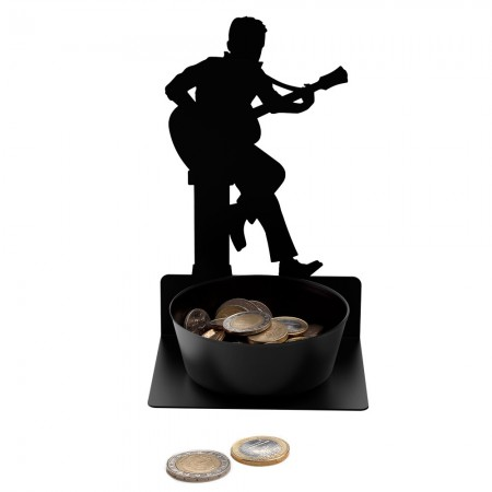 Busker Coin Holder - Red Candy
