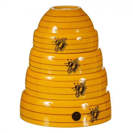 Bee Hive Measuring Bowls - Red Candy