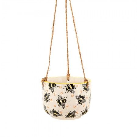 Busy Bees Hanging Planter - Red Candy