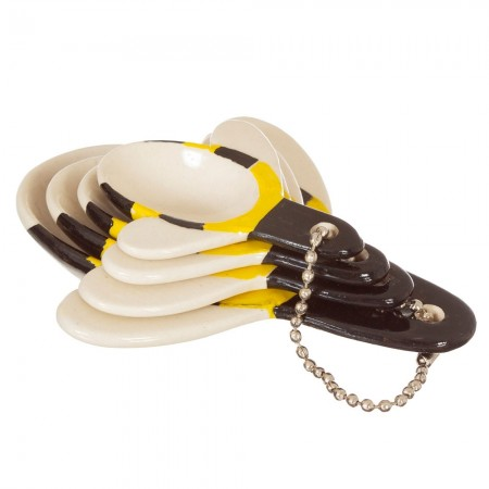 Busy Bee Measuring Spoons - Red Candy