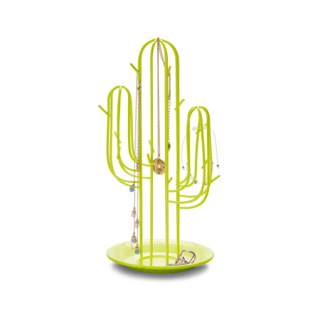Cactus Jewellery Rack - Red Candy