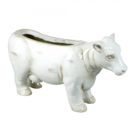 Carol Cow Planter - Red Candy