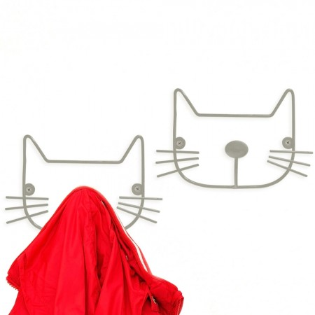 Cat Coat Rack (2 Pack) - Red Candy