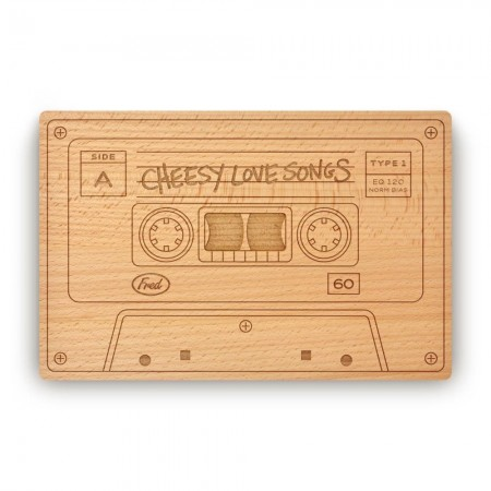 Cheesy Love Songs Cheese Board - Red Candy