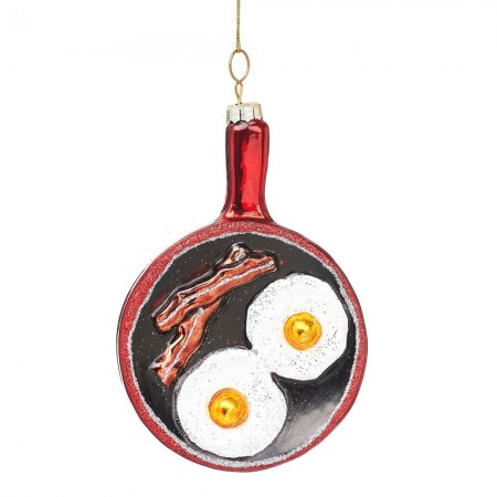 Christmas Fry Up Shaped Bauble - Red Candy