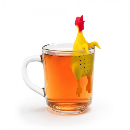 Cock-a-doodle Brew Tea Infuser - Red Candy