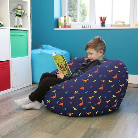 Dinosaur Bean Bag (2 sizes) - Red Candy