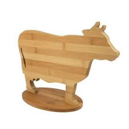 Cow Chopping Board - Red Candy