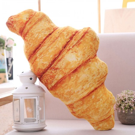 Croissant Cushion - Red Candy