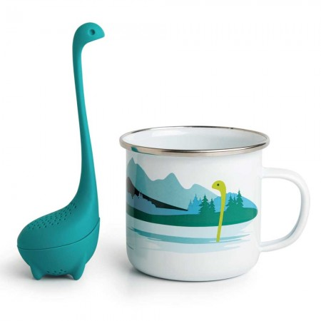 Cup of Nessie Tea Infuser & Cup - Red Candy