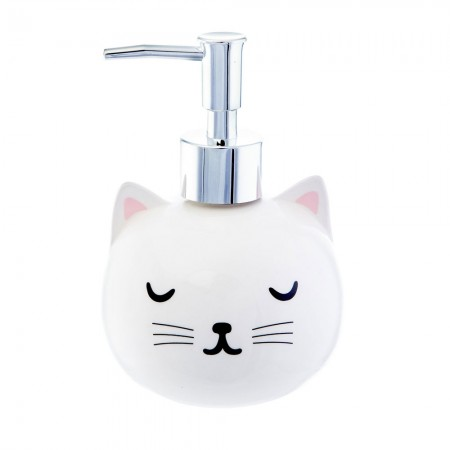 Cutie Cat Hand Wash Dispenser - Red Candy