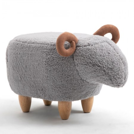 Danny the Ram Footstool - Red Candy