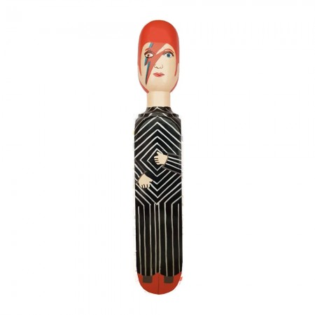 David Bowie Door Stopper - Red Candy