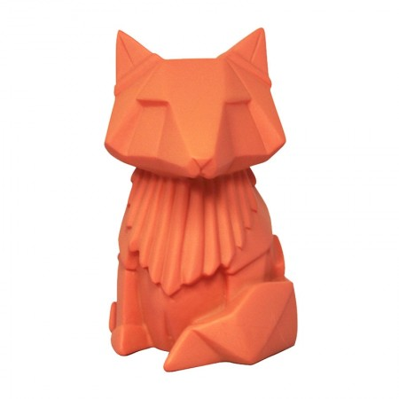 Orange Fox Mini LED Lamp - Red Candy