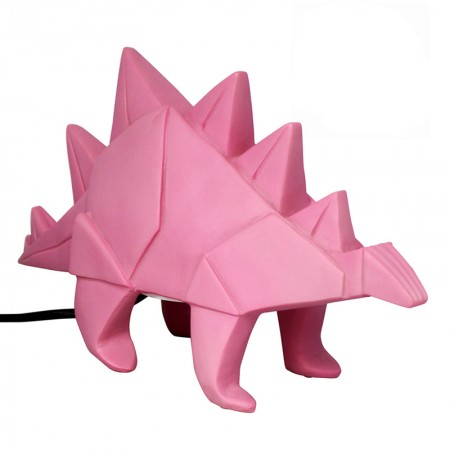 Stegosaurus Dino Lamp (Pink) - Red Candy