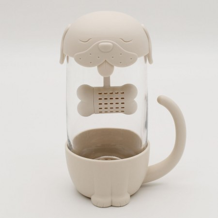 Dog Tea Infuser Cup - Red Candy