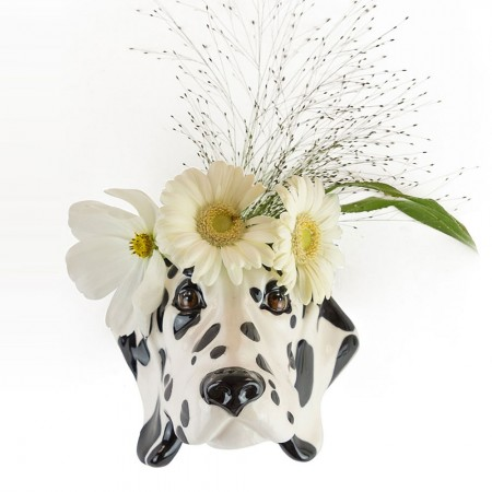 Dorothy the Dalmatian Wall Planter - Red Candy