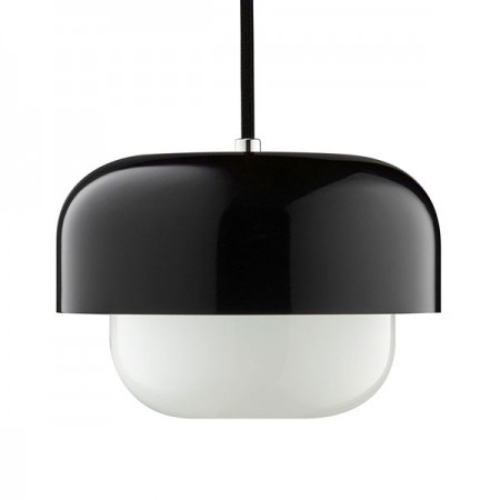 Haipot Pendant Light (Yang Black) - Red Candy